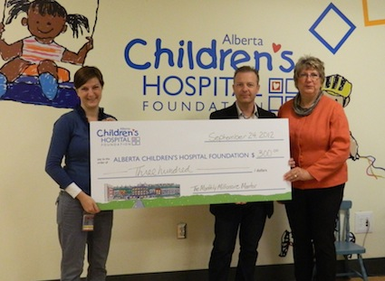 Monthly Millionaire Mentor supports Children Hospital