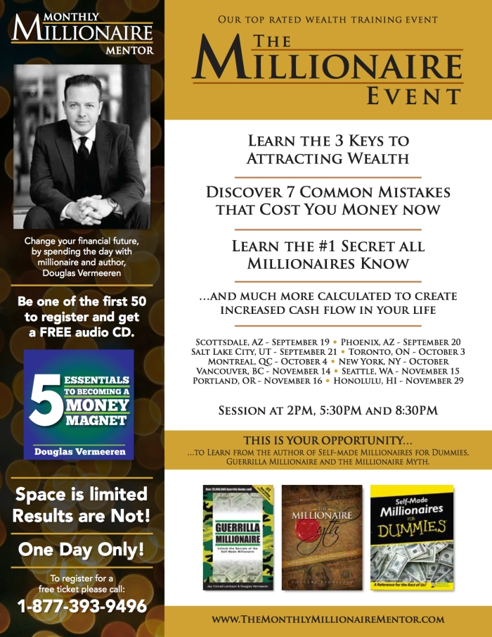 Millionaire Event