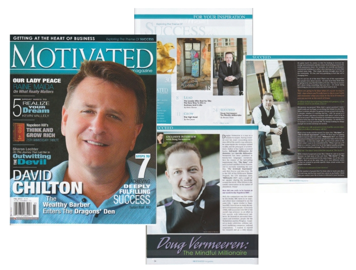 Douglas Vermeeren in Motivated Magazine