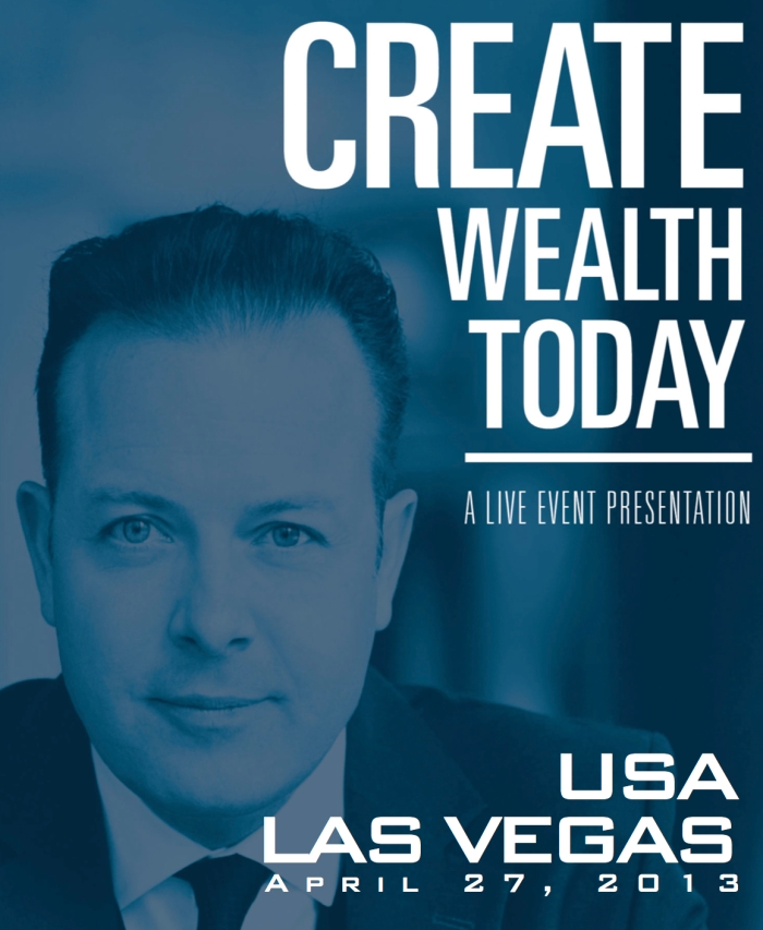 Create Wealth Today event in Las Vegas