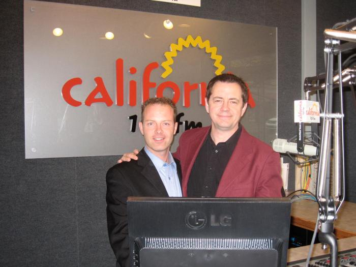 Millionaire Mentor, Douglas Vermeeren with John Beaudin of California 103FM