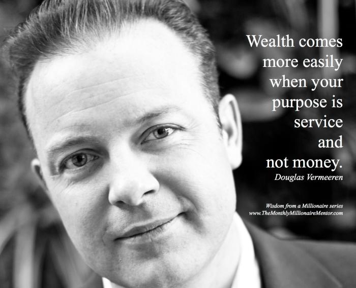 Douglas Vermeeren - Wisdom from a millionaire 13