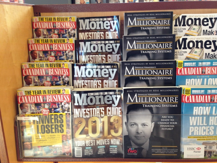 Douglas Vermeeren on the cover of Millionaire Magazine