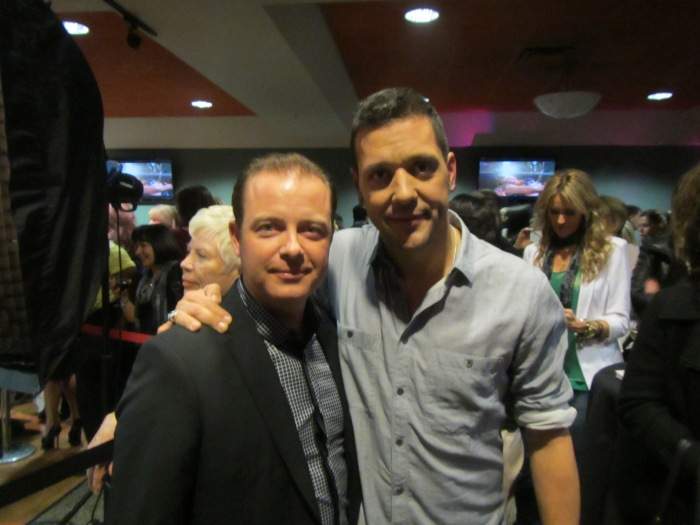 Millionaire Mentor, Douglas Vermeeren with George Stroumboulopoulos of CBC's George Stroumboulopoulos Tonight