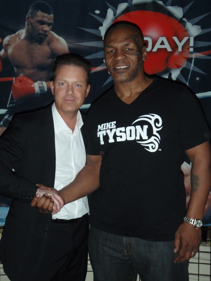 Millionaire Mentor, Douglas Vermeeren and Boxing Champ Mike Tyson