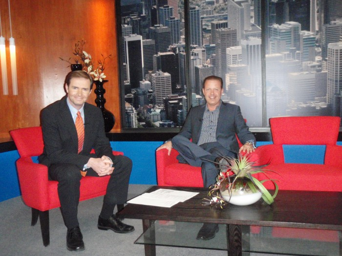 Ian White Interviews Douglas Vermeeren on CTV.