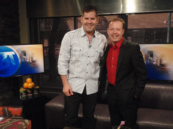CITY TV Host Jason Strudwick with Millionaire Mentor Douglas Vermeeren