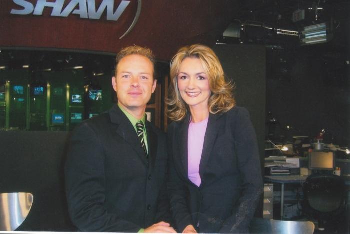 Millionaire Mentor, Douglas Vermeeren and Helena Devries with SHAW TV