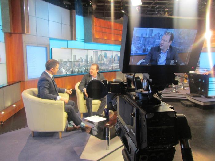 Millionaire Mentor Douglas Vermeeren on CTV Morning live - Edmonton