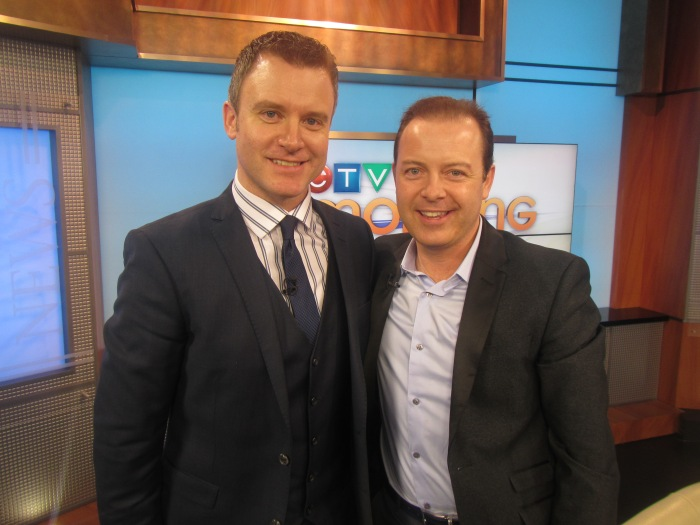 Rob Williams and Douglas Vermeeren on CTV morning live