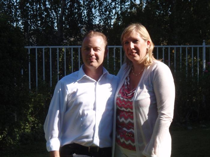 Douglas Vermeeren and Marie Diamond