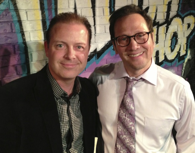 Achievement Expert Doug Vermeeren and Actor Rob Schneider