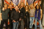 Douglas and Holly Vermeeren with Def Leppard