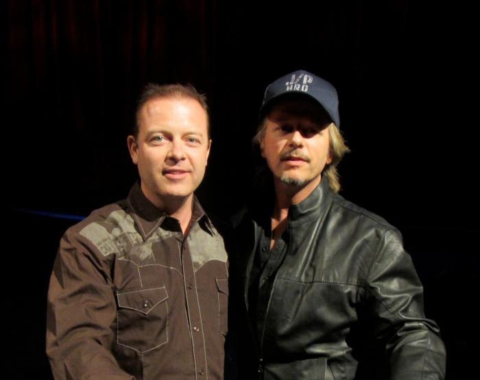 Douglas Vermeeren and David Spade