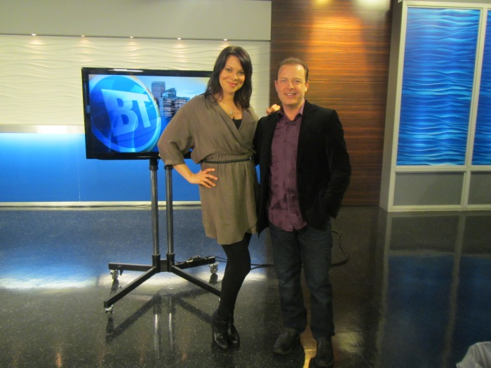 Douglas Vermeeren of The Gratitude Experiment on CITY TV with Tara Slone