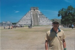 Me at the ruins at Chichen Itza Mexico