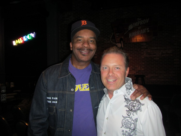 David Alan Grier from Living Color with Success coach Douglas Vermeeren