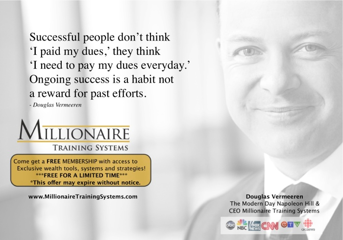 Millionaire Training systems - Douglas Vermeeren 1-2