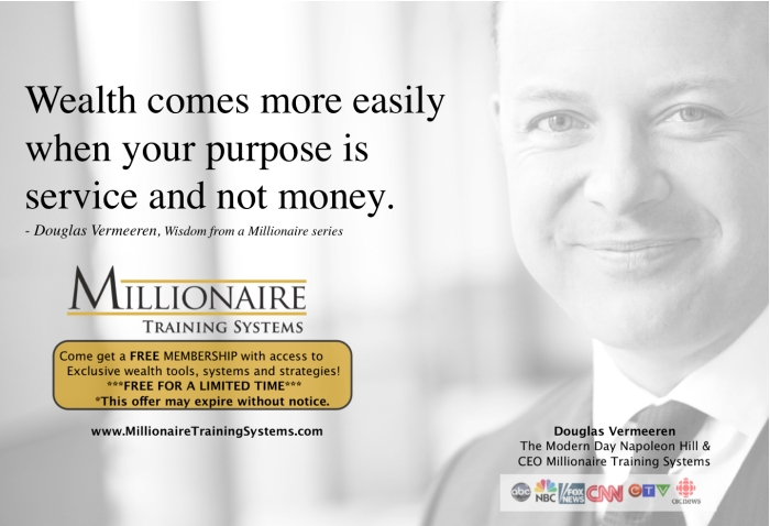 Millionaire Training Systems Douglas Vermeeren 1-3