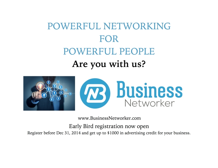Business Networker ad 1-1