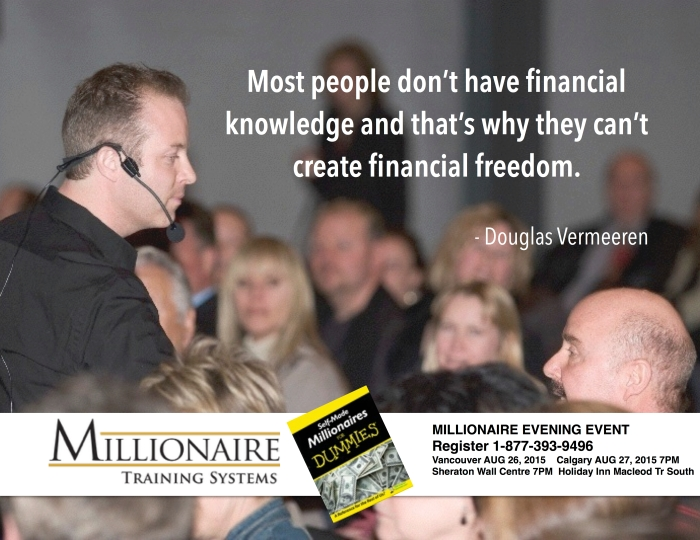 #1 Wealth coach and Trainer - Douglas Vermeeren