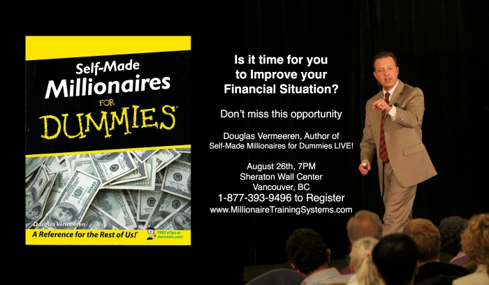 Millionaire Training Systems coming to Vancouver