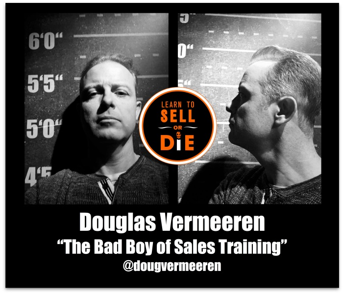 Douglas Vermeeren Bad boy of sales training