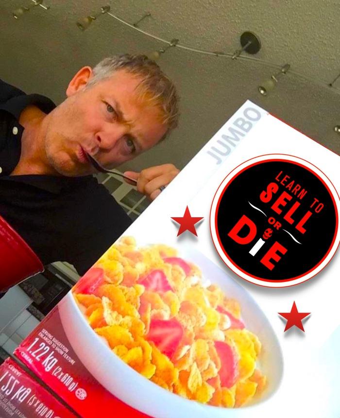 Sell or Die Cereal Douglas Vermeeren clever marketing