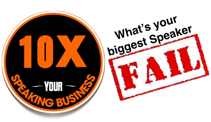 10X Your Speaking Business Douglas Vermeeren fail