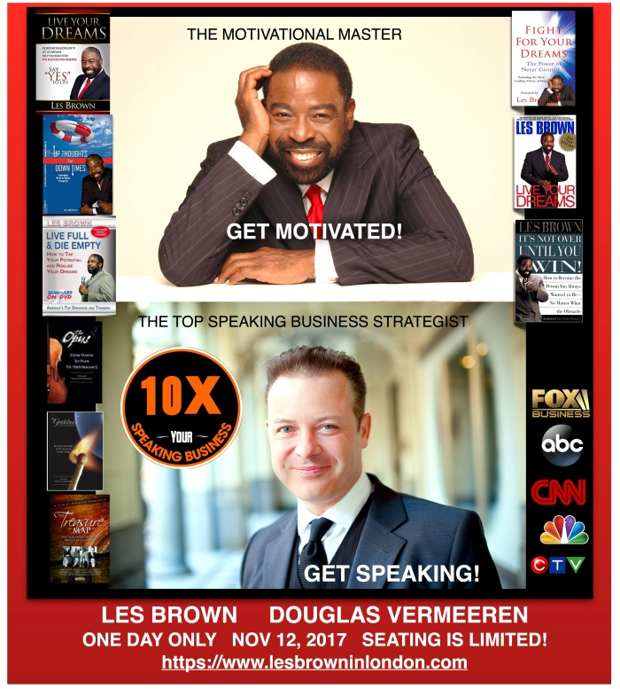 Les Brown Douglas Vermeeren 10x Your Speaking Business