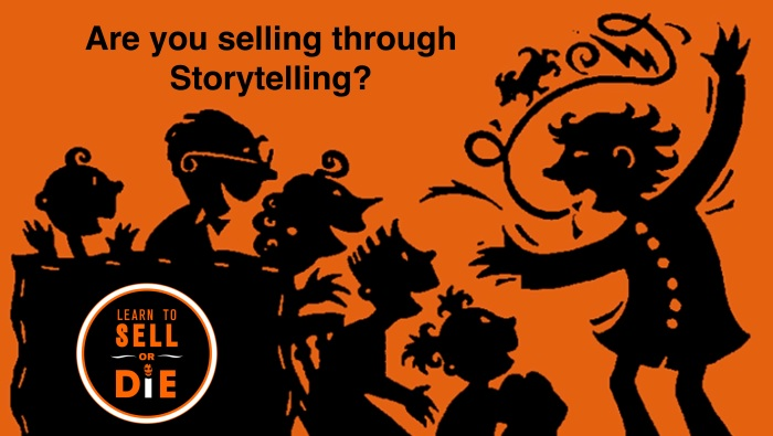 Learn to Sell or Die Douglas Vermeeren storytelling