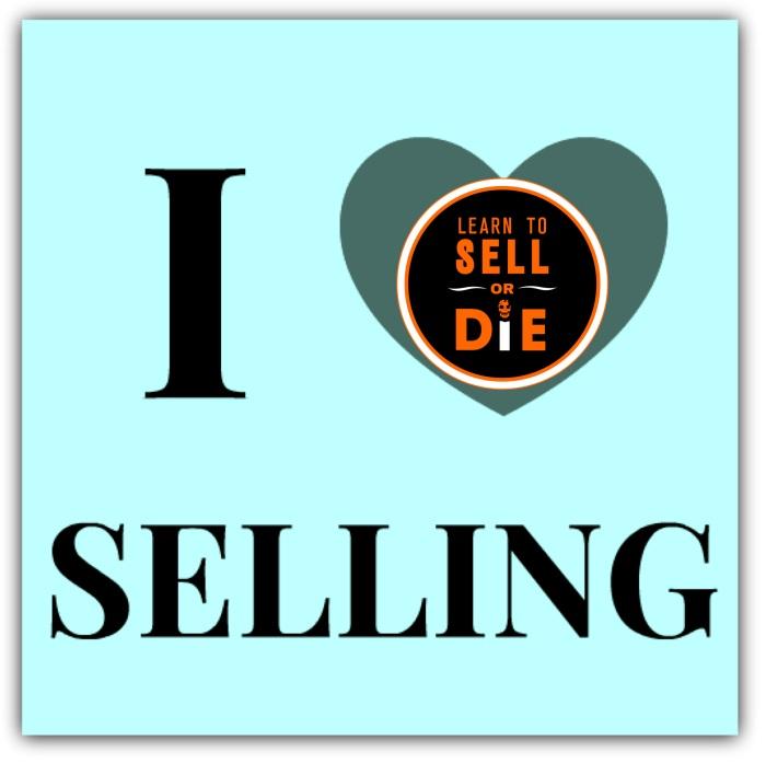 I love Selling - I love Douglas Vermeeren