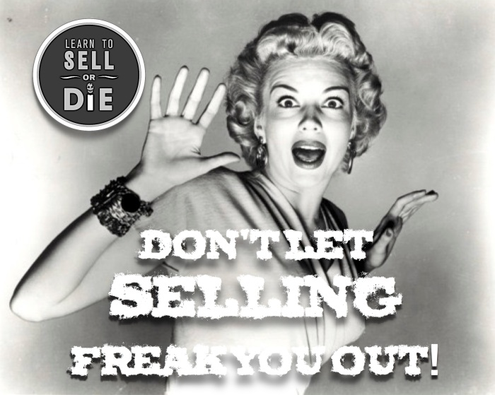 Learn to Sell or Die - Douglas Vermeeren was freaked out