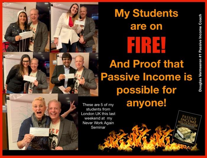#1 passive income coach - student reviews