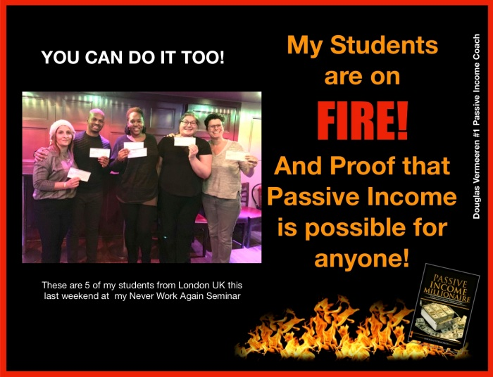 #1 passive Income Coach - More Student success