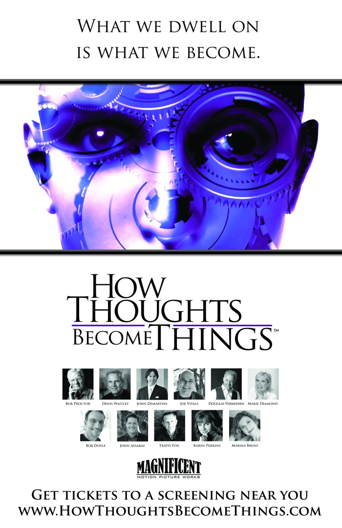 How thoughts Become Things poster